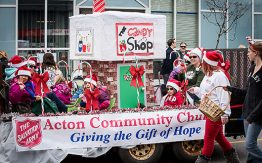 Acton Community Church float