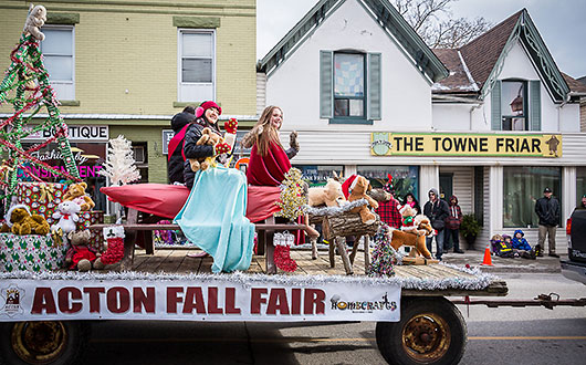 Acton Fall Fair float