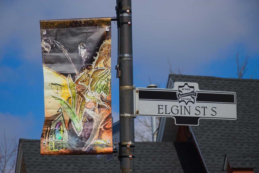 Public Art Banners Lift Spirits
