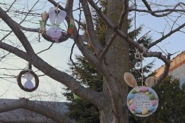 Picture of Easter Decorations.