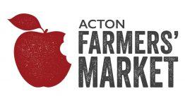 Acton Farmers Market logo.