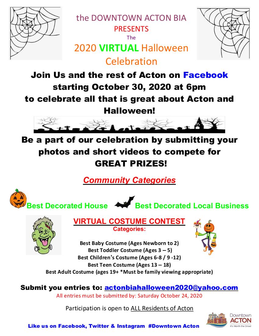 2020 Virtual Halloween