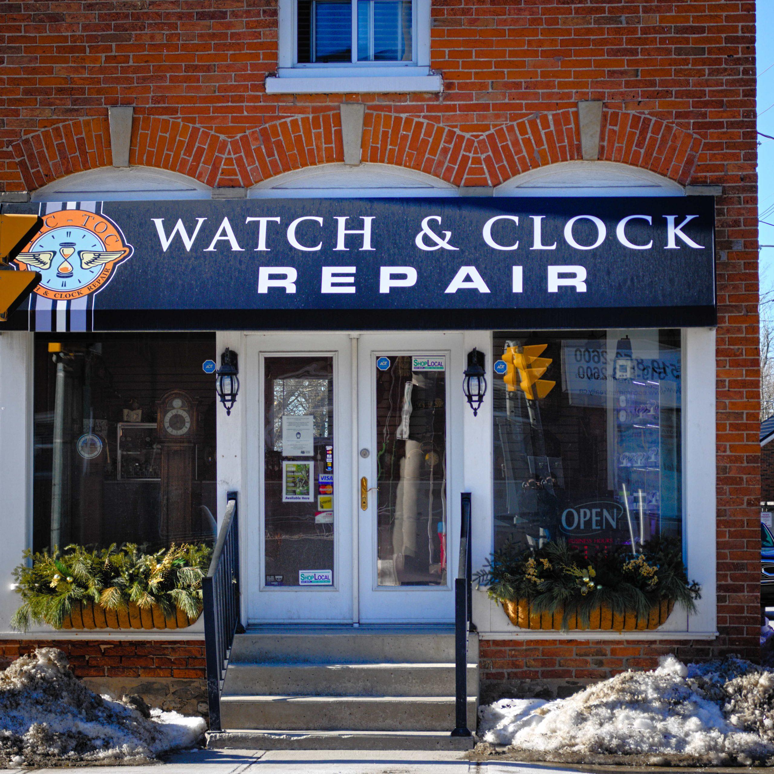 Tic Toc Watch and Clock Repair