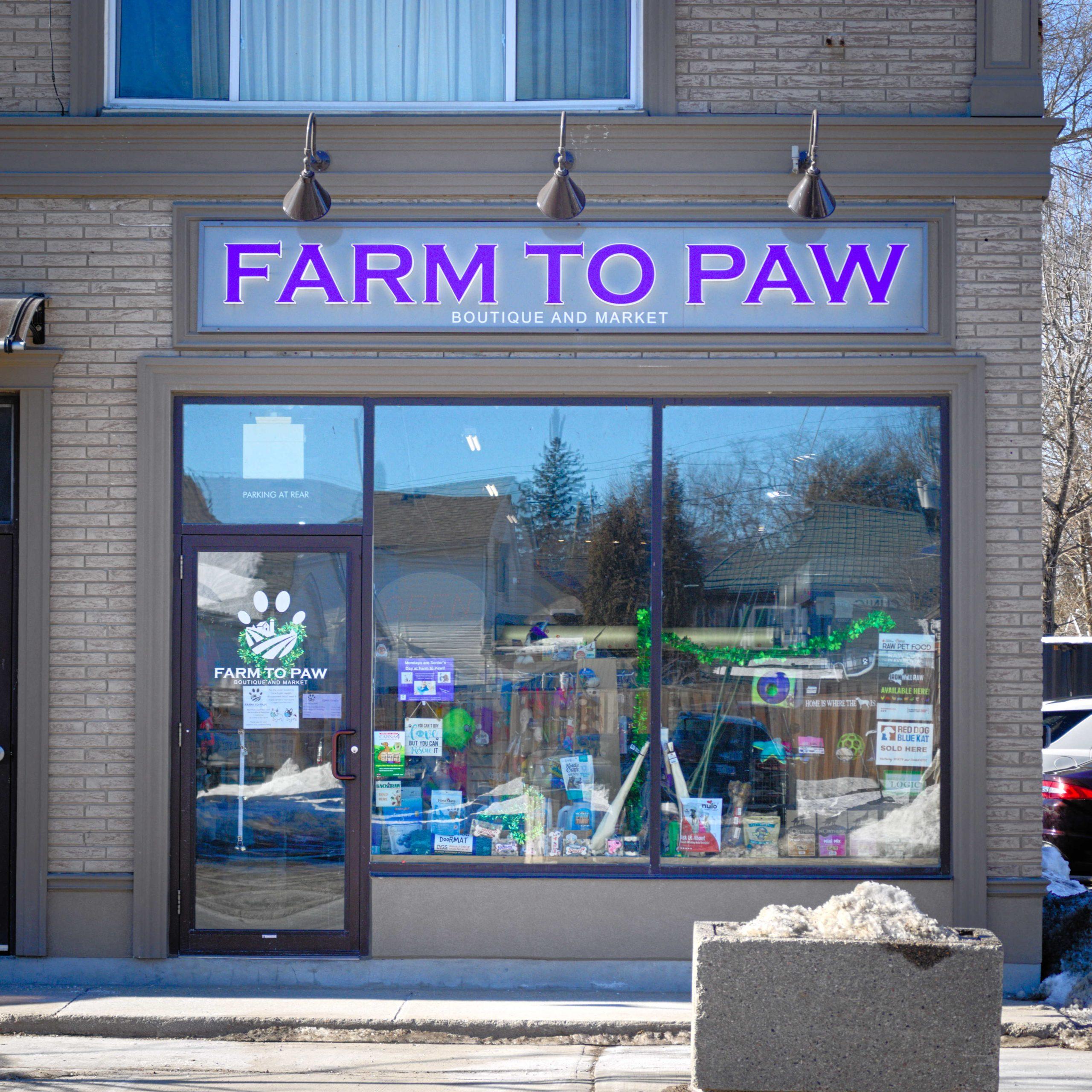 Farm to Paw