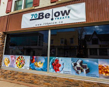 70 Below Storefront