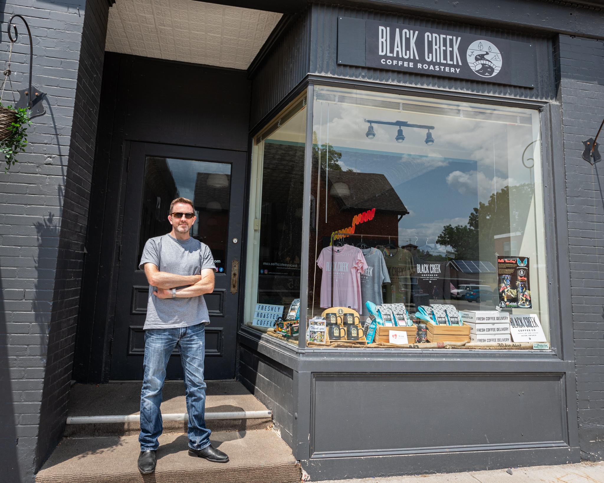 Meet the Business Owner – Black Creek Coffee